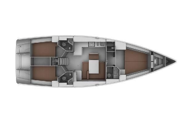 Bavaria Cruiser 45 Layout