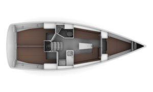 Bavaria Cruiser 34 - Layout