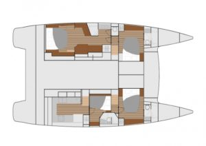 Ipanema Layout 4 Cabins 4 Heads