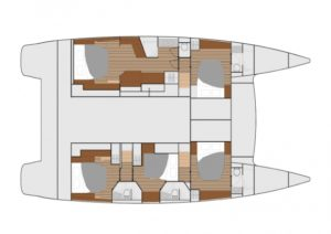 Ipanema Layout 5 Cabins 5 Heads