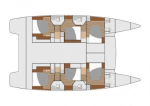 Ipanema Layout 6 Cabins 6 Heads