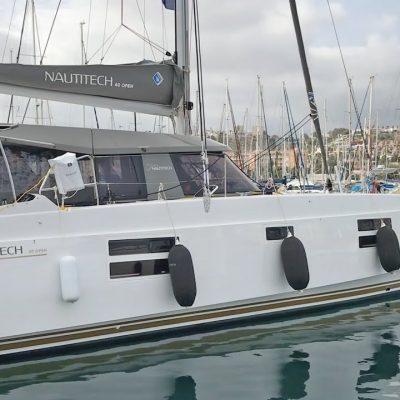 Nautitech Open 40 Catamaran