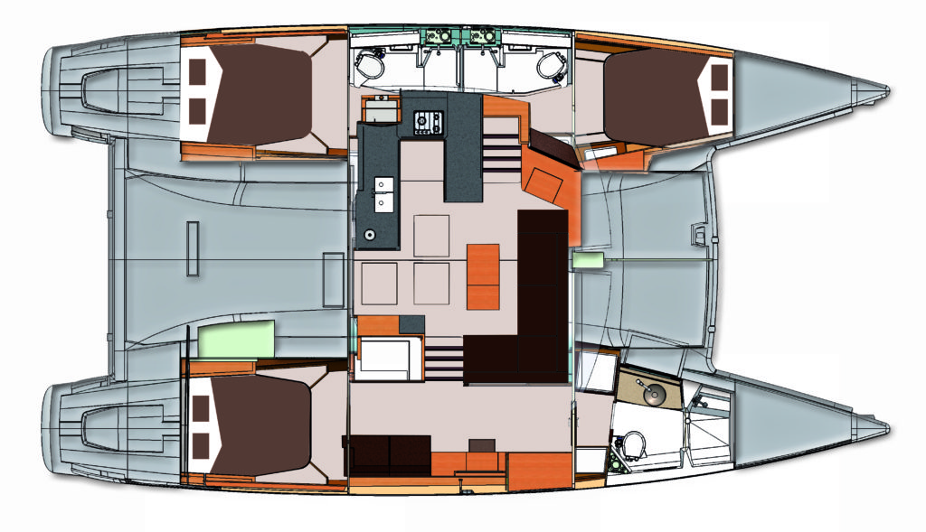 Fountaine Pajot Helia 44 Horizon Yacht Sales