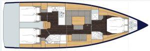 Bavaria Cruiser 45 3C 2H