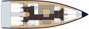 Bavaria Cruiser 45 4C 3H