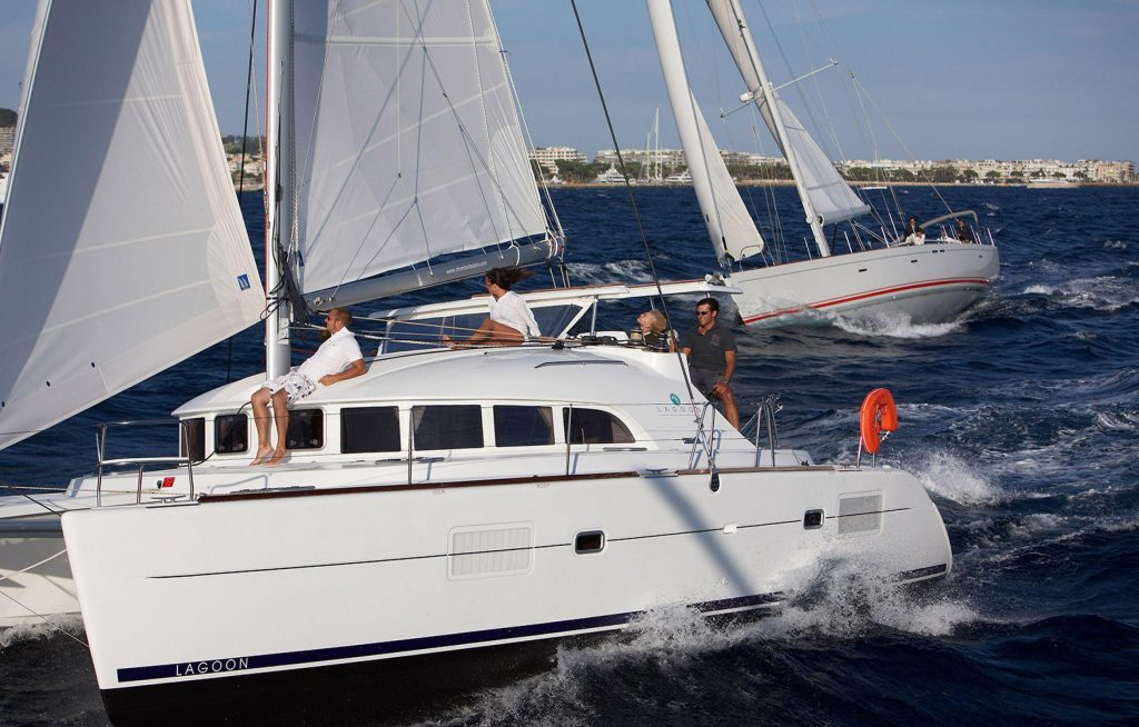 The Lagoon 380 from Lagoon Catamarans is still going strong