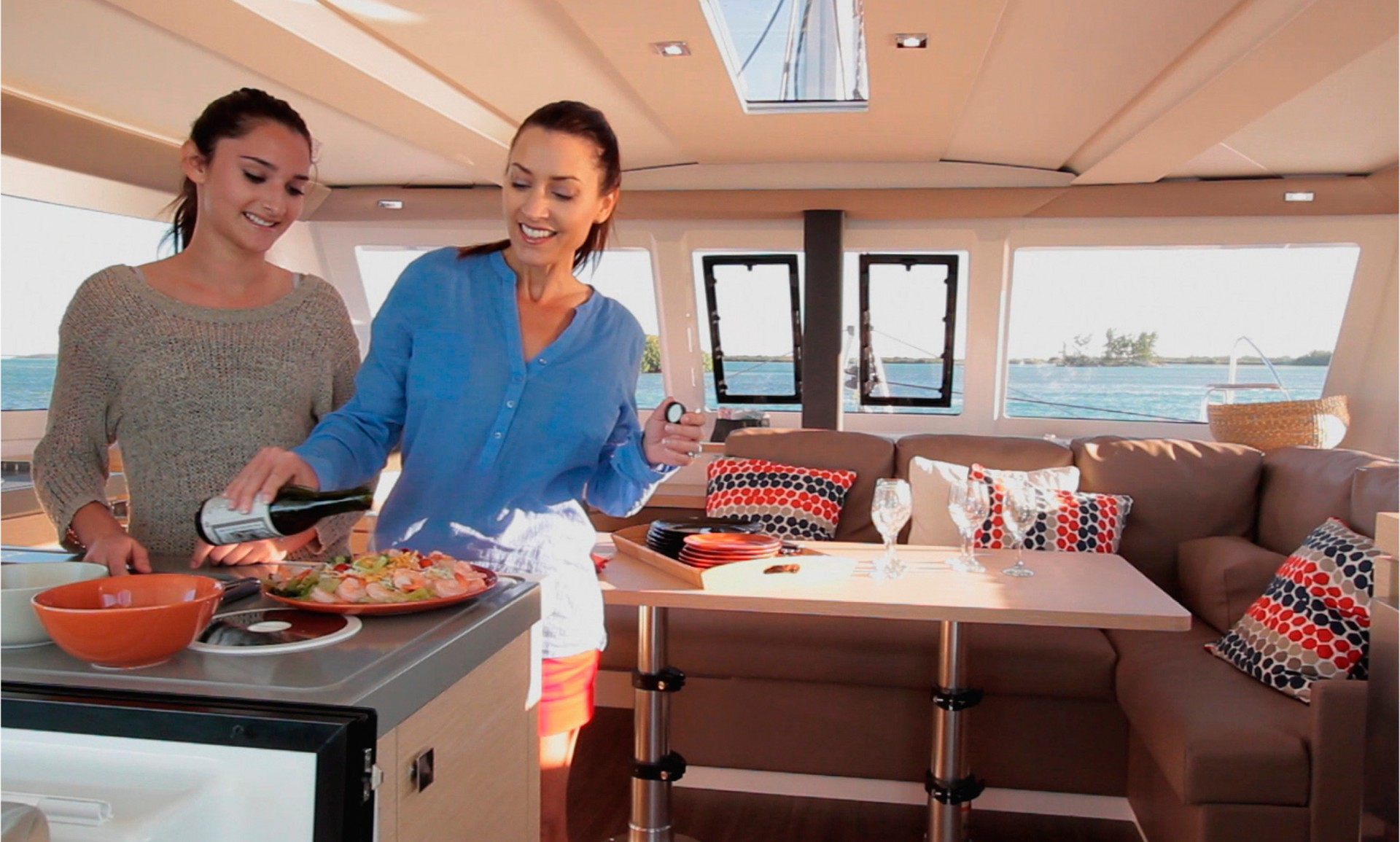 Fountaine Pajot Lucia 40 Interior