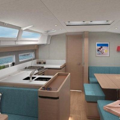 2019 Jeanneau 490 Interior