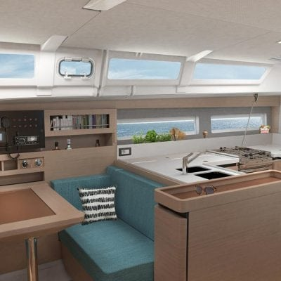 Jeanneau 490 Interior