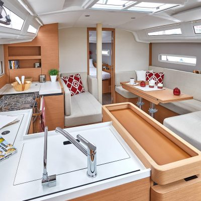 Sun Odyssey 410 - Interior_1