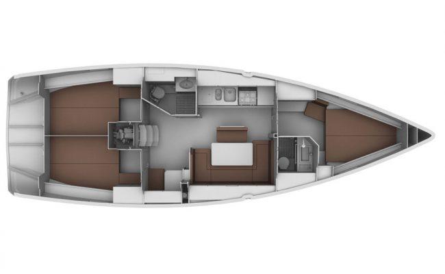 Bavaria Cruiser 40LE 3 Cabins 3 Heads