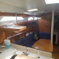 2000 Catalina 380 Interior
