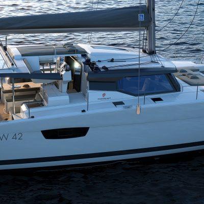 fountaine pajot Astrea 42 catamaran Exterior
