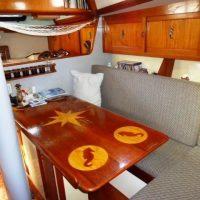 Ted Brewer Cape North 43 Interior