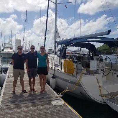Swift from Horizon Yacht charters