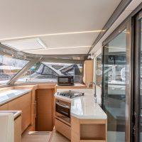 Nautitech Open 40 'Starfish Enterprise' Interior