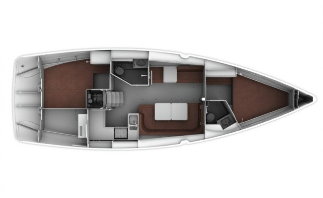 Bavaria Cruiser 41 Layout