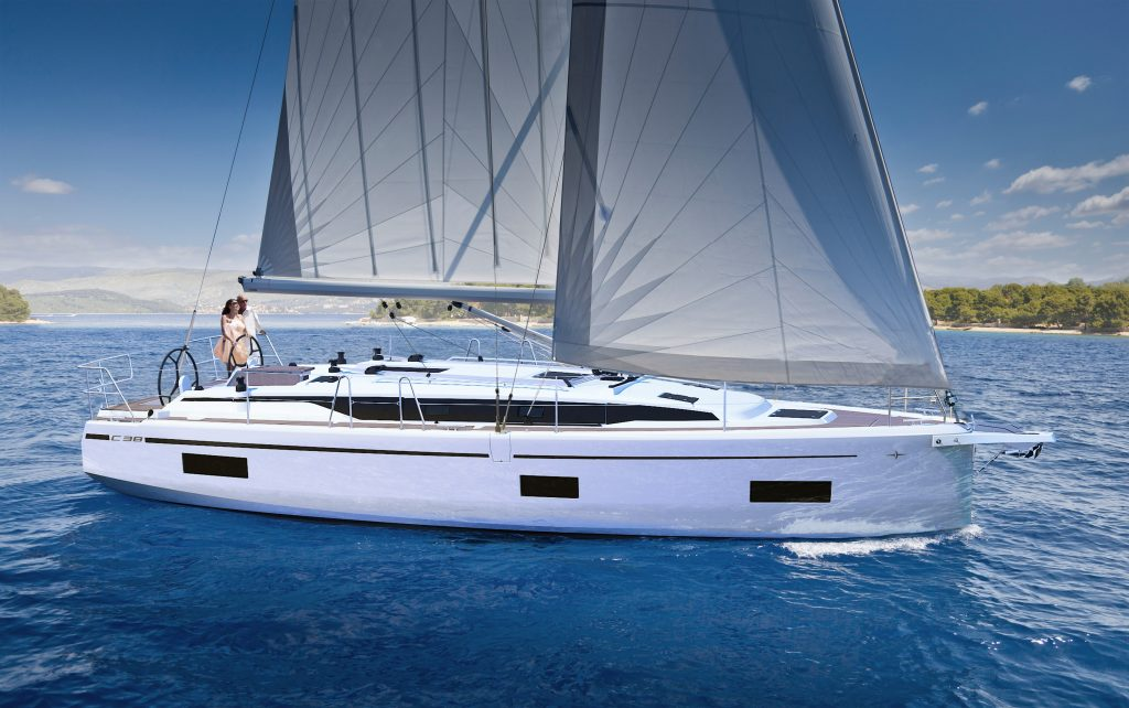 New Bavaria C38 Exterior