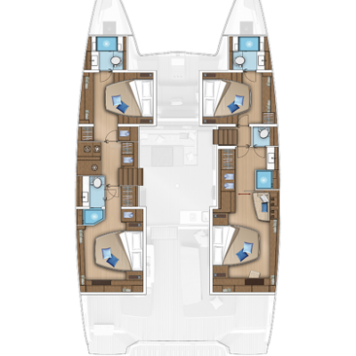 Lagoon 55 - Map