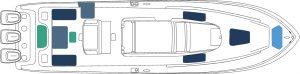 invincible 42 cabin mono layout